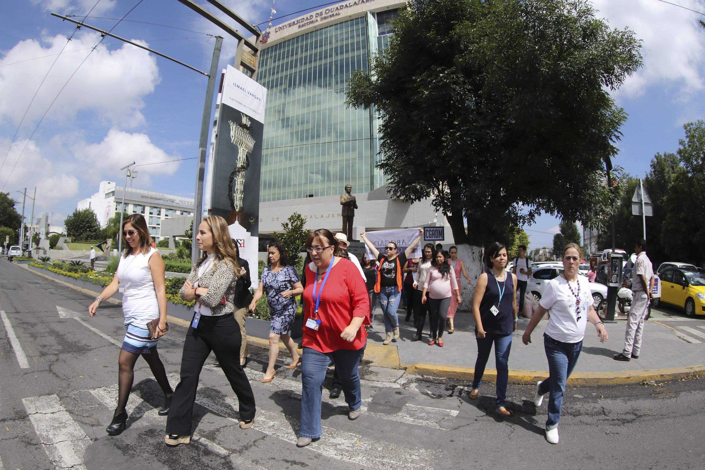 La Universidad de Guadalajara (UdeG) se unirá al simulacro nacional convocado por el Sistema Nacional de Protección Civil y la Unidad Estatal de Protección Civil y Bomberos de Jalisco