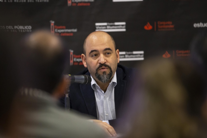 El Secretario de Vinculación y Difusión Cultural de la Universidad de Guadalajara, licenciado Ángel Igor Lozada Rivera Melo