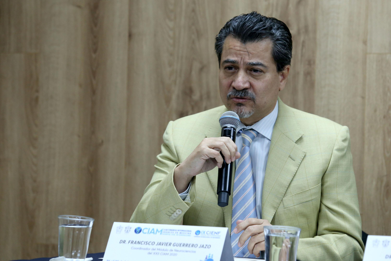 Los pormenores del Módulo de Neurociencias fueron dados a conocer por el doctor Francisco Javier Guerrero Jazo