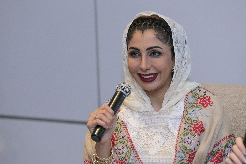 La Princesa del Emirato de Sharjah, Sheikha Hend Faisal Al Qassemi,
