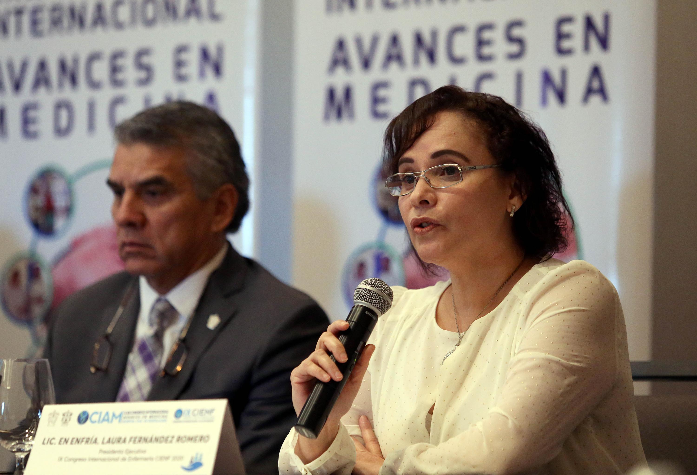 Dr Benjamin Becerra Rodríguez, Lic en Enfría. Laura Fernández Romero