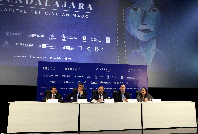 El Festival Internacional de Cine en Guadalajara (FICG) festejará su edición 35 del 20 al 27 de marzo del presente año