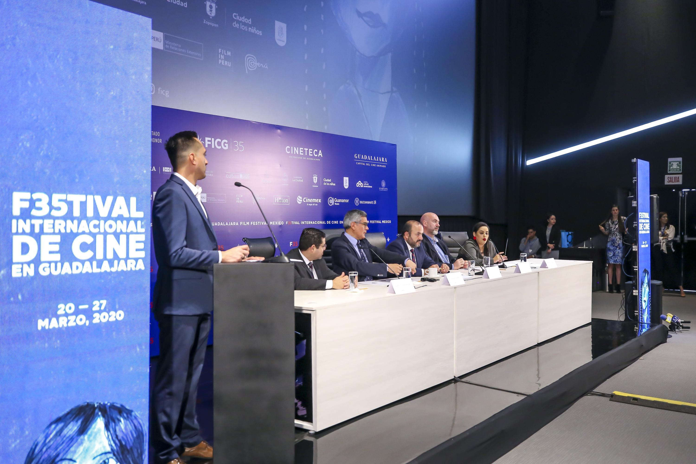 El Festival Internacional de Cine en Guadalajara (FICG) festejará su edición 35 del 20 al 27 de marzo del presente añoFICG festeja 35 años con más espacios de exhibición y un Premio de la Prensa a la Mejor película mexicana