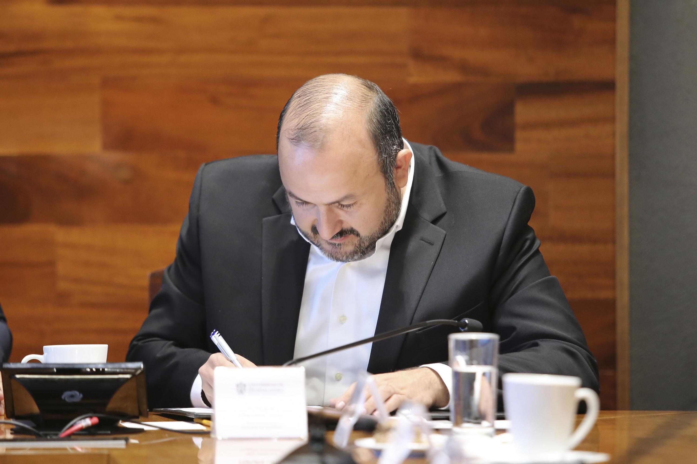 El Rector, doctor Ricardo Villanueva Lomelí