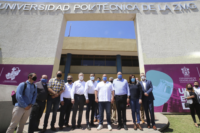 La Universidad de Guadalajara (UdeG), el Gobierno de Jalisco y el Ayuntamiento de Tlajomulco de Zúñiga unieron esfuerzos para poner en marcha la integración paulatina académica y administrativa
