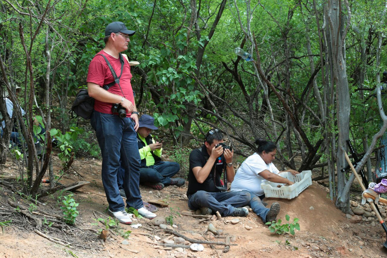 El alumno de la Maestría en Periodismo Digital realizó un reportaje sobre la búsqueda de personas desaparecidas en Sinaloa