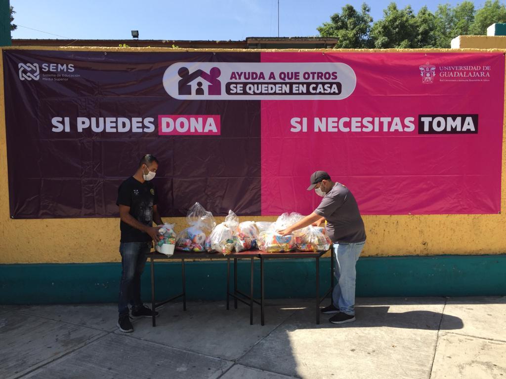 SEMS reúne más de 9 mil despensas para familias vulnerables en Jalisco