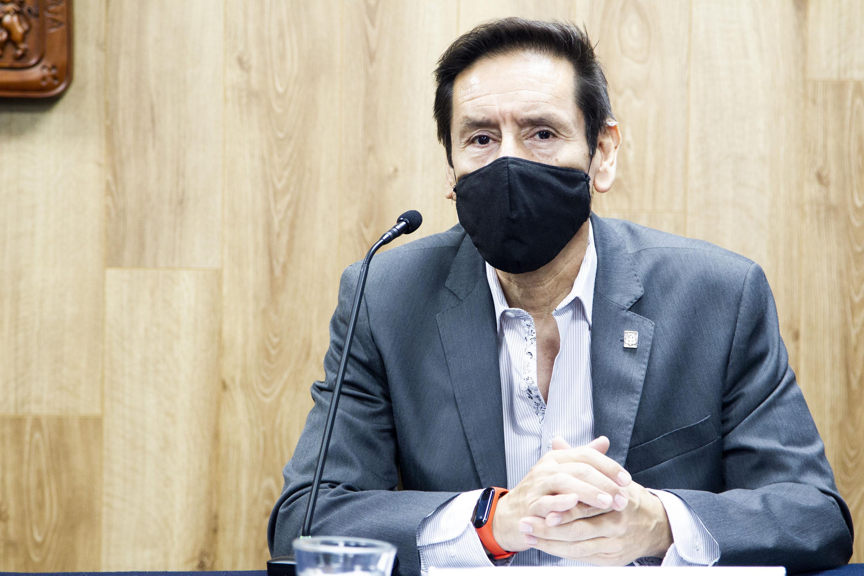 El Rector del CUAAD, doctor Francisco Javier González Madariaga