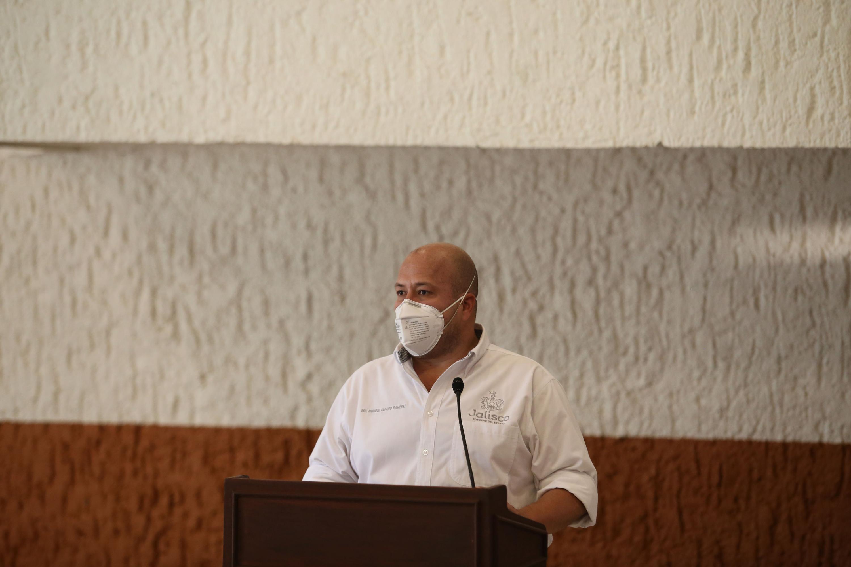 El Gobernador de Jalisco, Enrique Alfaro Ramírez