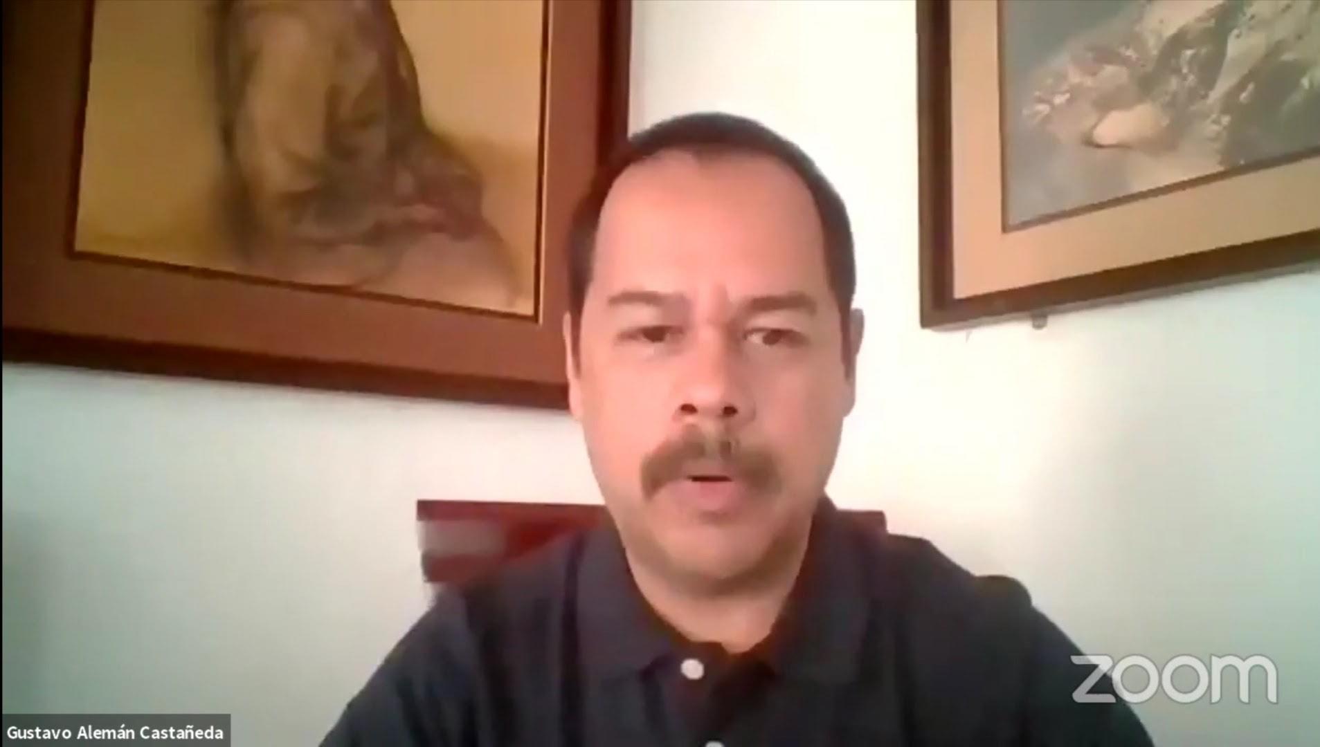 Gustavo Alemán Castañeda, restaurador de bienes muebles y especialista en pintura mural