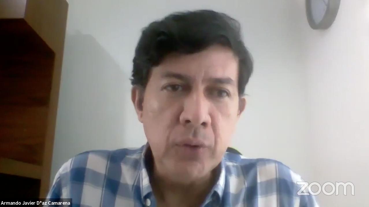 El autor del Protocolo para detección y denuncia de casos de violencia de género en centros escolares de educación básica, en vinculación con el IJM, maestro Armando Javier Díaz Camarena