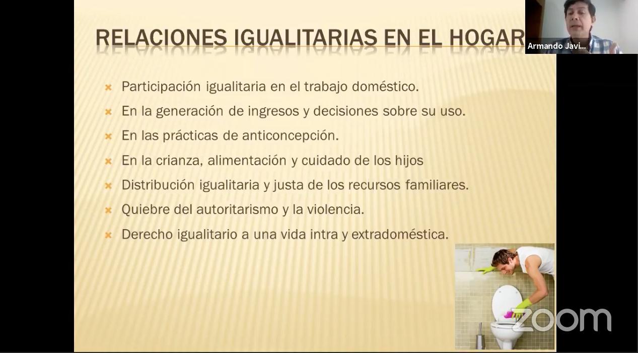"""Diapositivas del quinto conversatorio del Precongreso """"Habilidades para la vida"""", titulado """"Convivencia familiar en la contingencia"""""""
