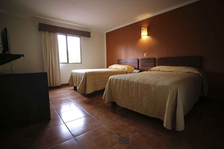 Instalaciones del Hotel Villa Primavera de la Universidad de Guadalajara (UdeG)