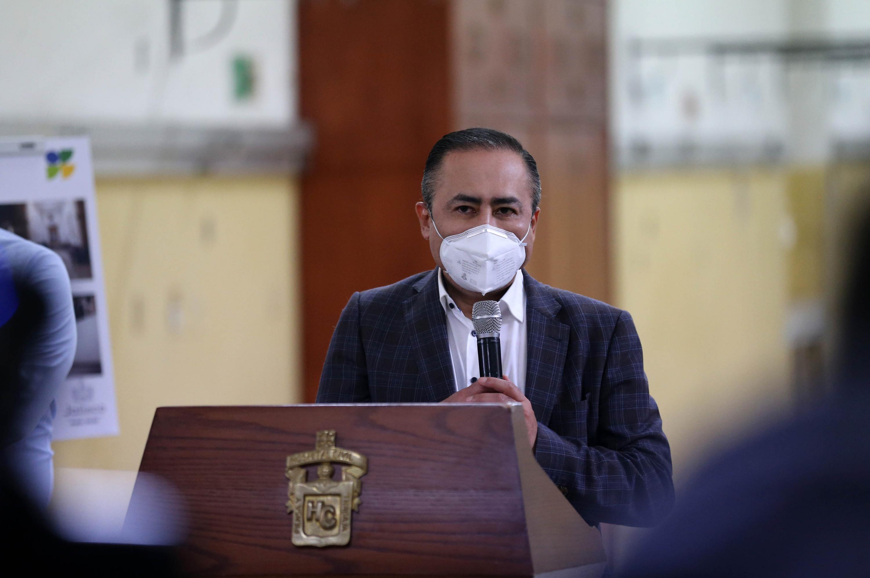 El director del HCG, doctor Jaime F. Andrade Villanueva