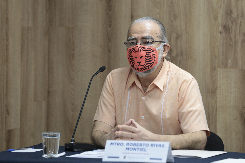 El Coordinador de Control Escolar de la UdeG, maestro Roberto Rivas Montiel