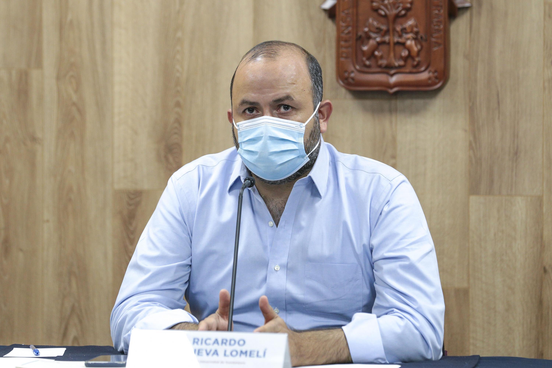 El Rector General, doctor Ricardo Villanueva Lomelí