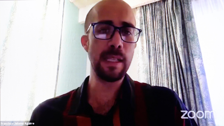El doctor Francisco Jalomo Aguirre, académico del Centro Universitario de Ciencias Sociales y Humanidades (CUCSH)