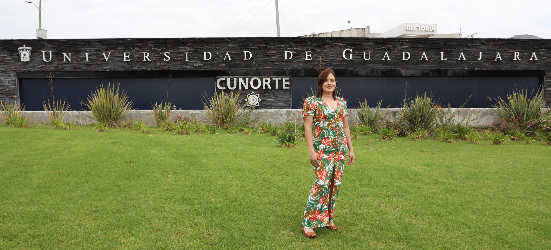 La maestra Sharon Lizeth Martínez Guzmán, académica y Coordinadora de Finanzas del Centro Universitario del Norte (CUNorte)