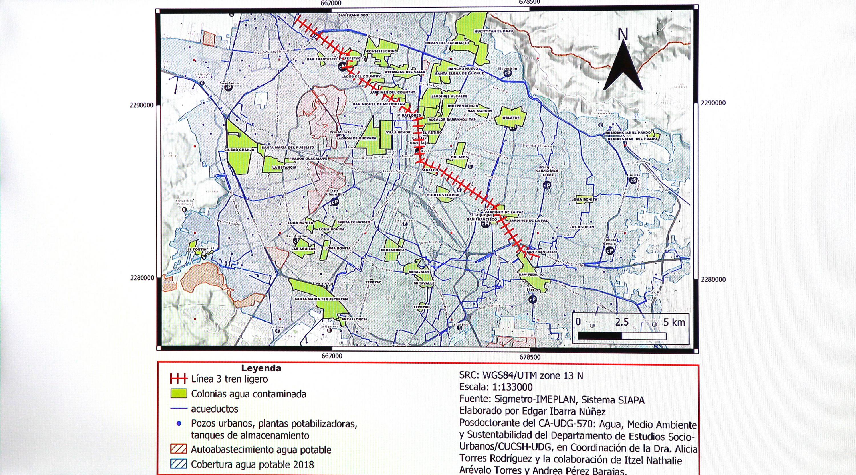 Hay 148 colonias afectadas; algunas de las más perjudicadas tienen cercanía con la infraestructura de la línea 3 del Tren Ligero