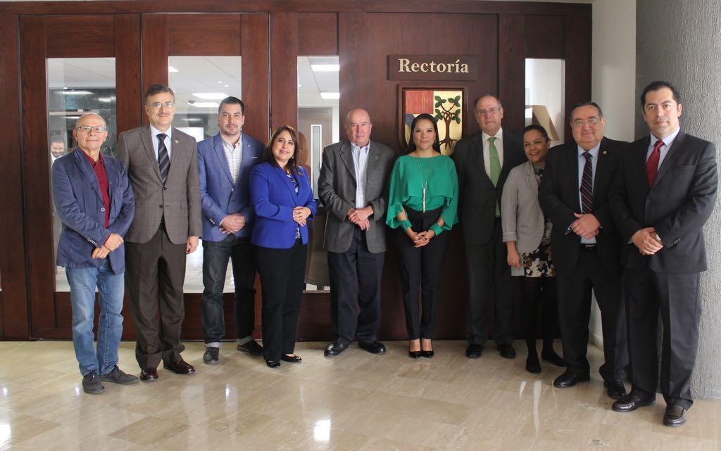 Rectores de las diferentes universidades en Jalisco (UdeG, Univa, UP, ITESO, Tec de Monterrey)
