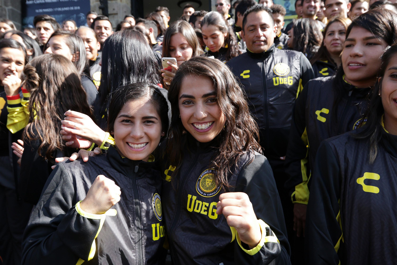 Dos Atletas de la Universidad de Guadalajara que participarán en la Universiada 2018