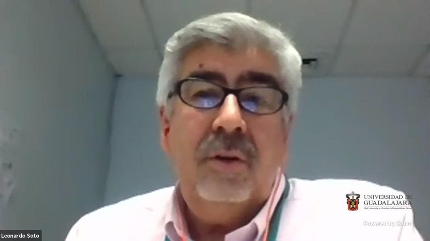 """En el webinar """"Dialogando con"""", organizado por el CUCEA, participa el doctor Leonardo Soto Sumuano como invitado"""