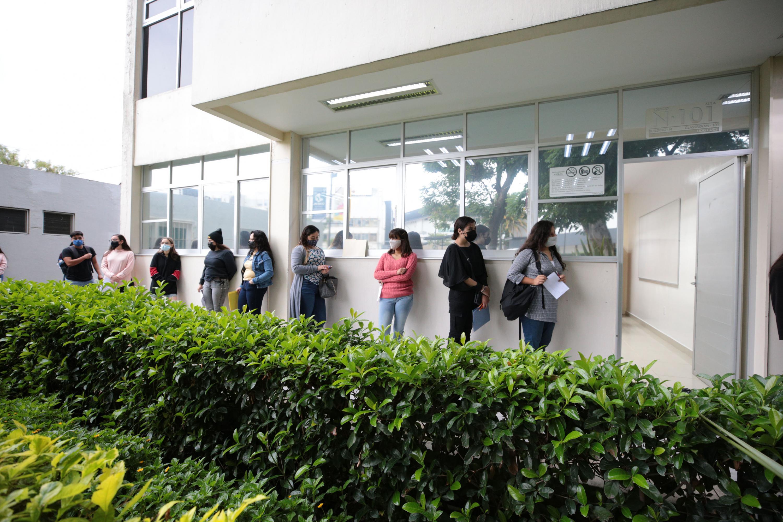 Realizan jornada de aplicación de la PAA en 13 centros universitarios con aforos reducidos y medidas sanitarias