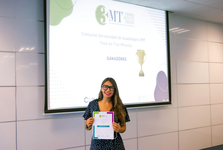 Participaron en la primera edición del Concurso UdeG 3MT. Tesis en Tres Minutos