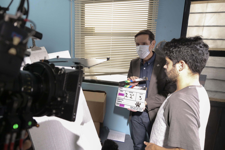 El primer largometraje hecho por el CUAAD e Imcine se realiza en varias locaciones de la ciudad