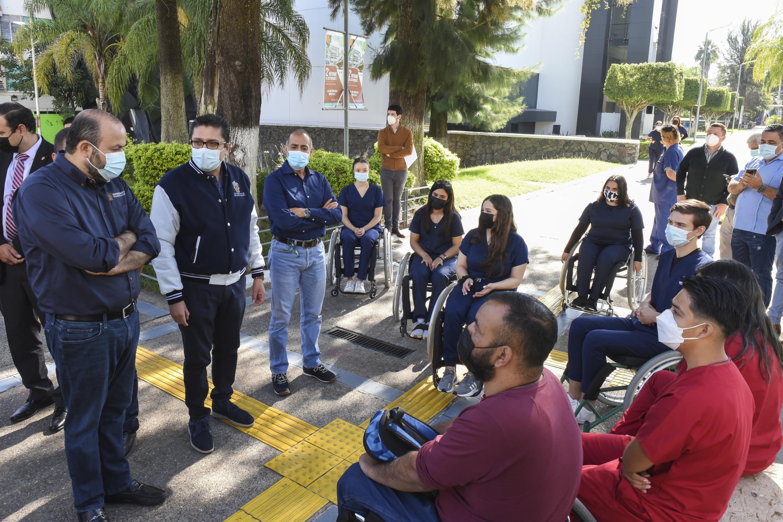 El Rector General refrenda su compromiso por la inclusión y la igualdad de oportunidades