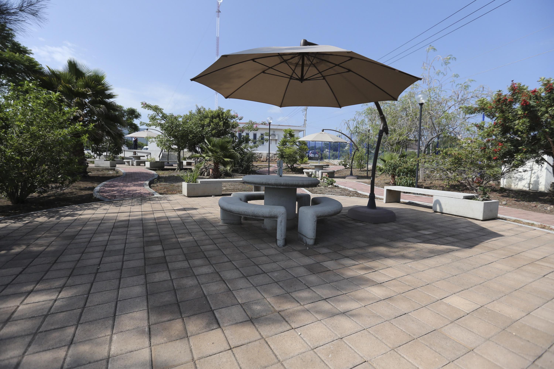 Instalaciones del Ciberjardín de la Casa Universitaria de Tizapán el Alto, Jalisco.