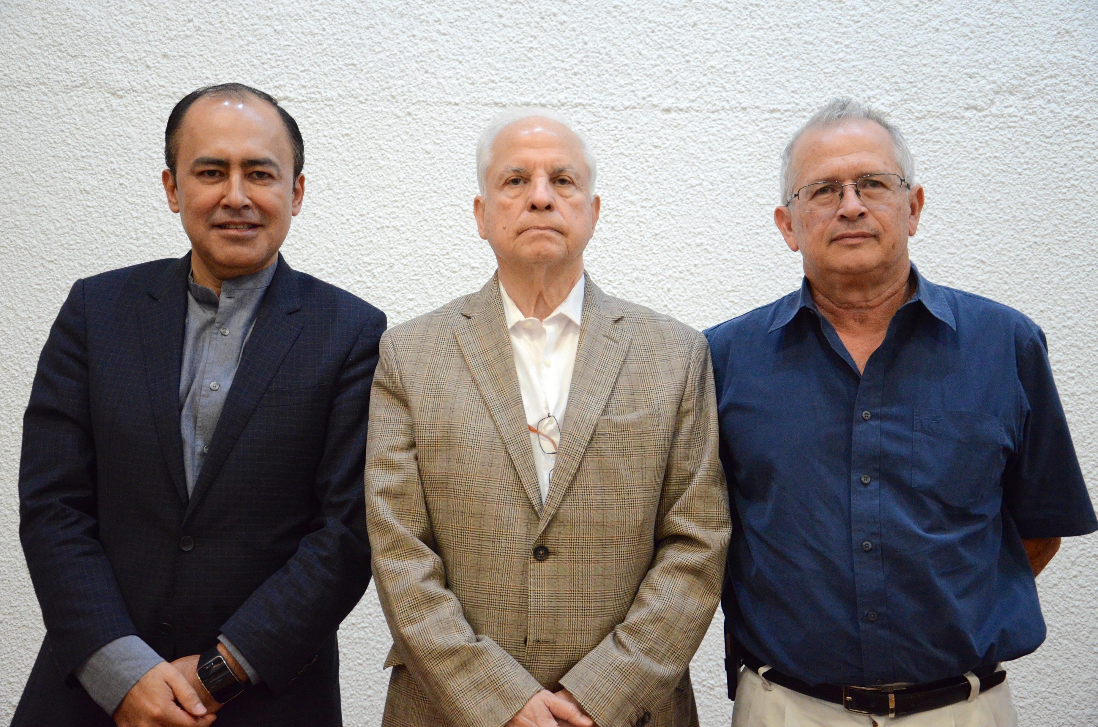 Óscar Aguirre Jáuregui, Jaime Federico Andrade Villanueva y Alfredo de Jesús Celis de la Rosa