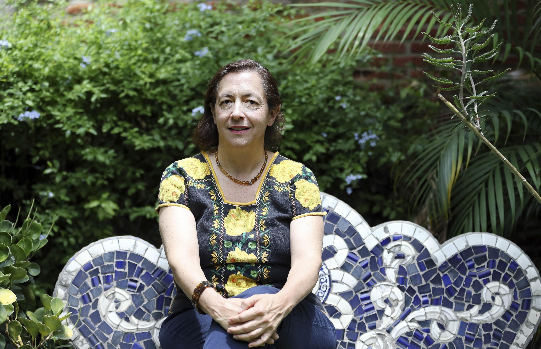 La escritora y poeta mexicana, la maestra Carmen Villoro Ruiz