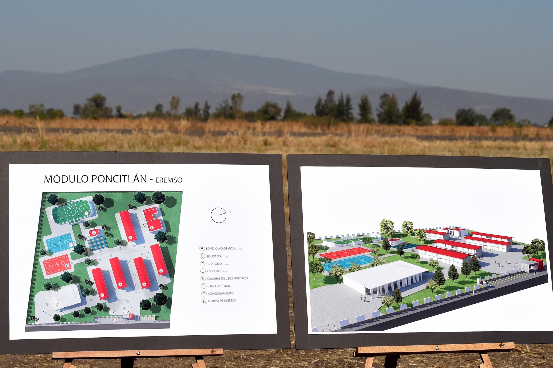 El terreno en que se construirá el nuevo plantel