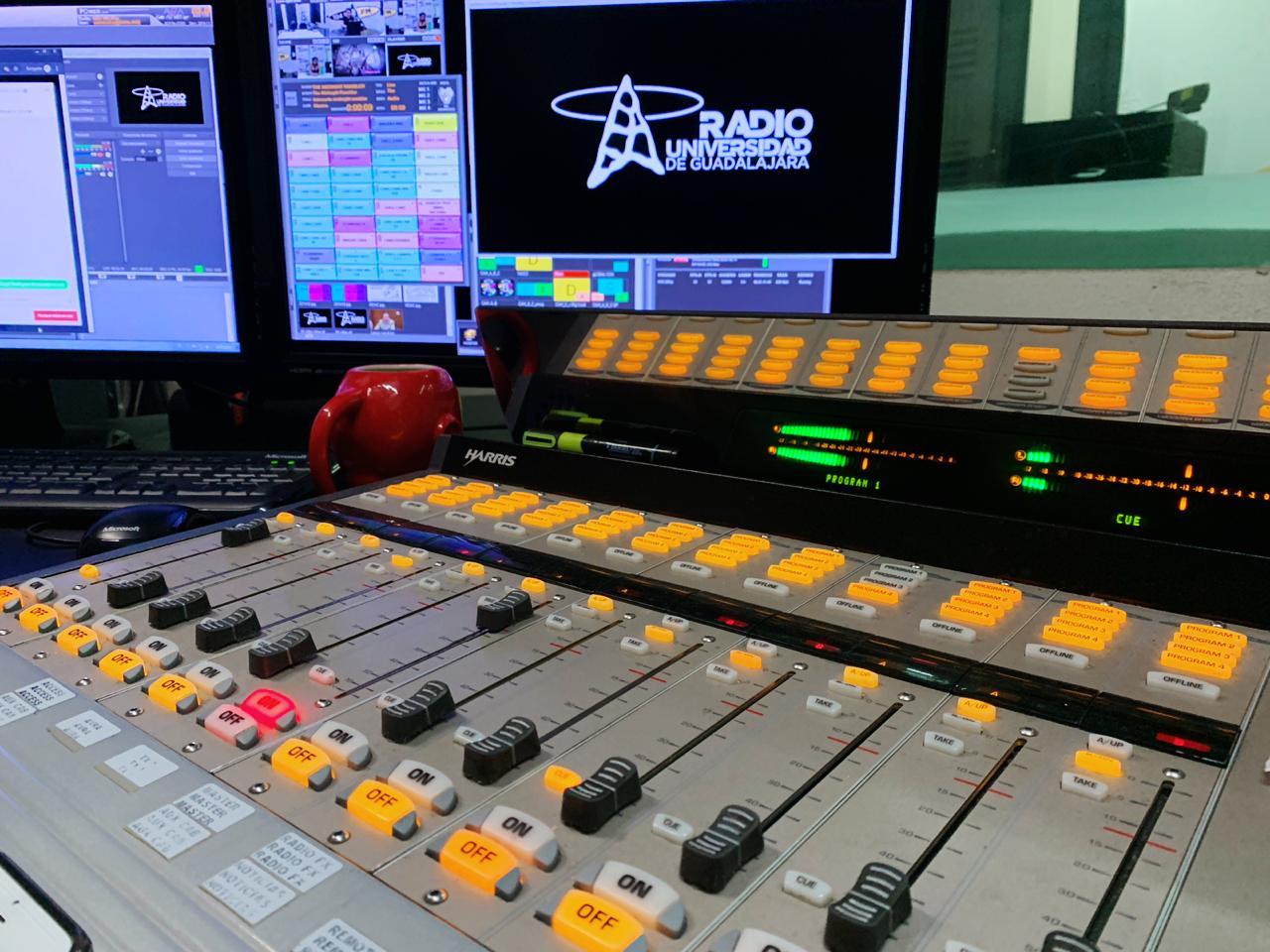 Imagen de cabina Radio UDG