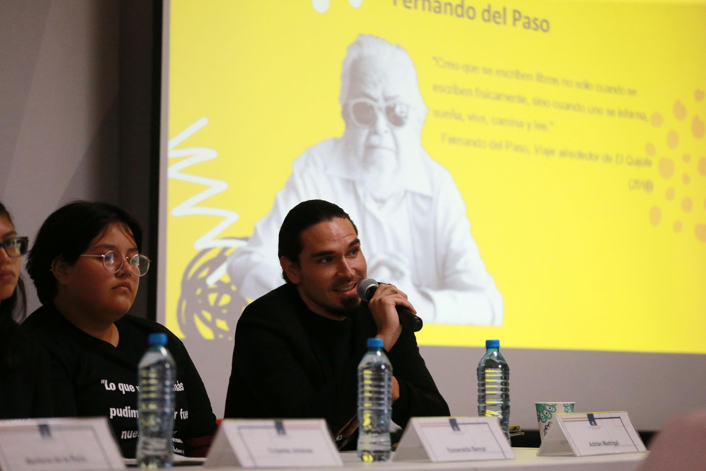 Reflexionan estudiantes sobre el legado de Del Paso