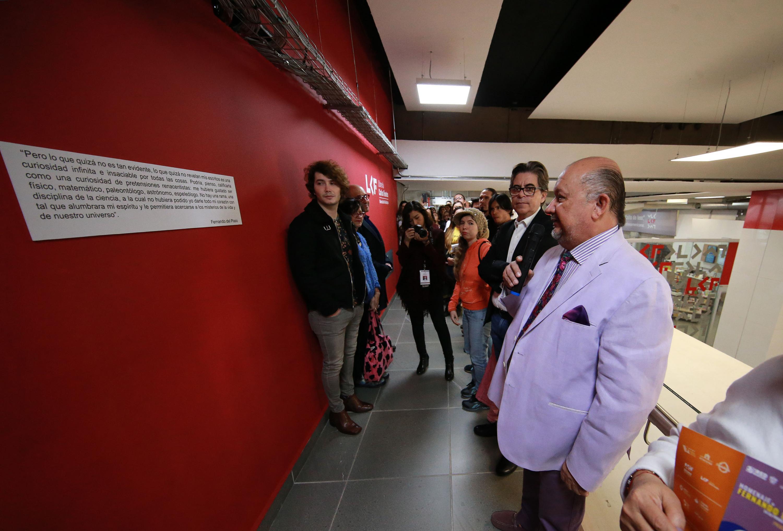 En la inauguración participa también el maestro Arturo Verduzco Godoy del CUAAD
