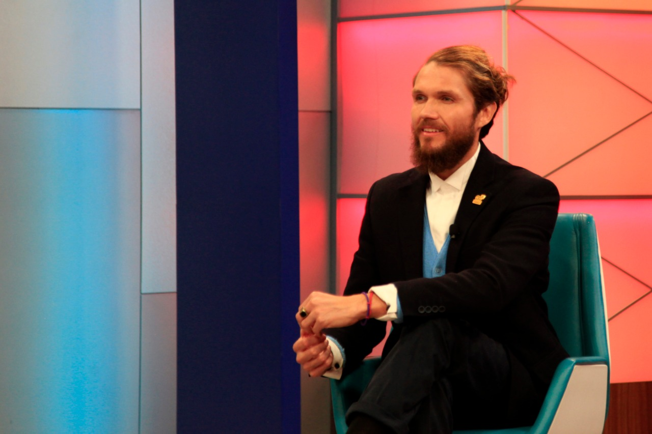 Nicko Nogués, activista, defensor de los derechos humanos y medioambientales.