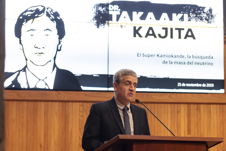 El Vicerrector de la UdeG, doctor Héctor Raúl Solís Gadea