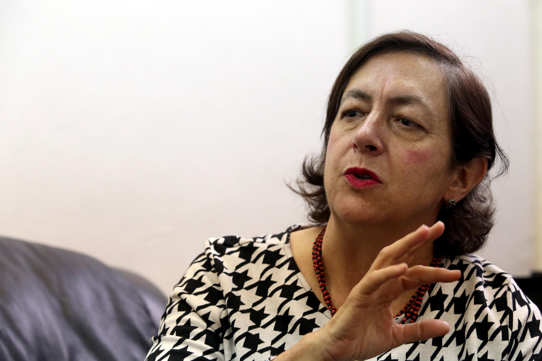 La maestra Carmen Villoro