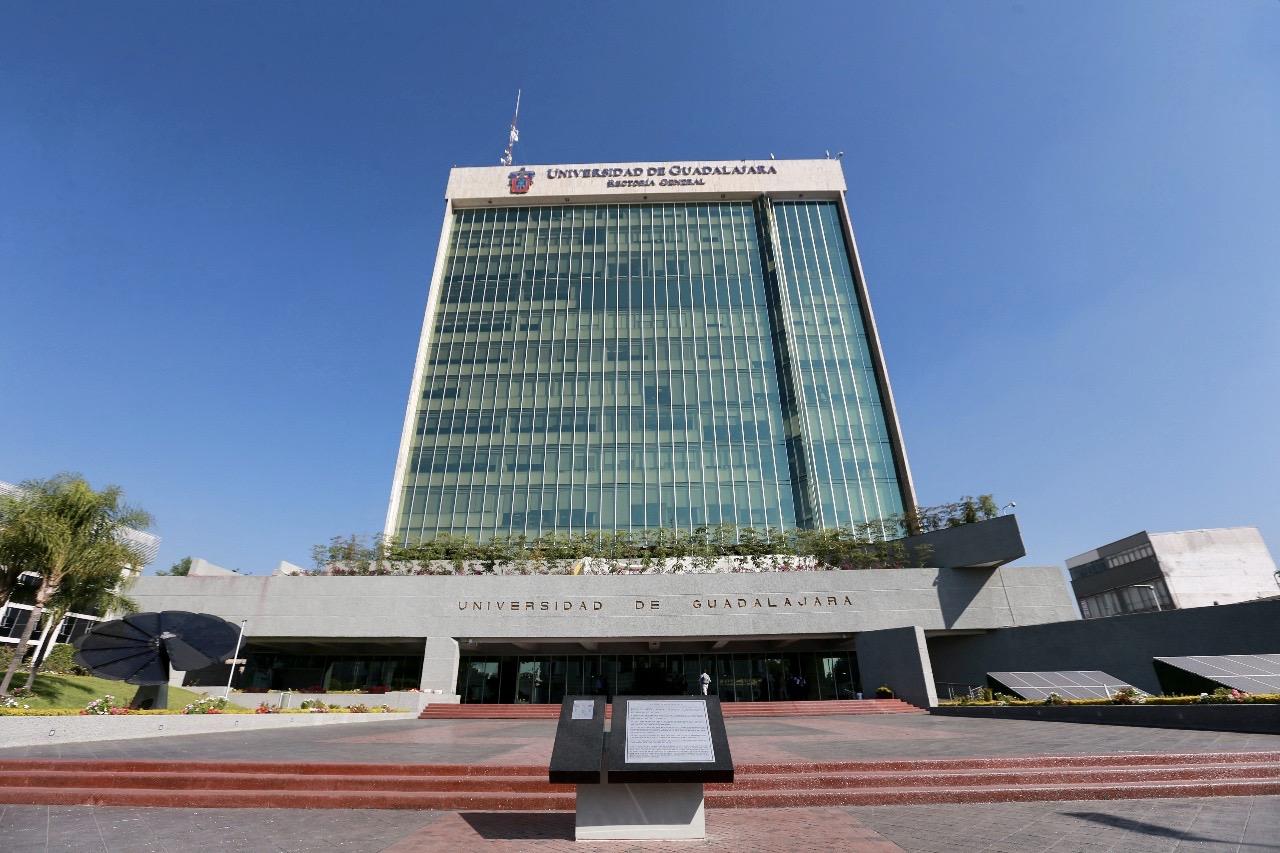 Fachada de Edificio de Rectoría General de la Universidad de Guadalajara