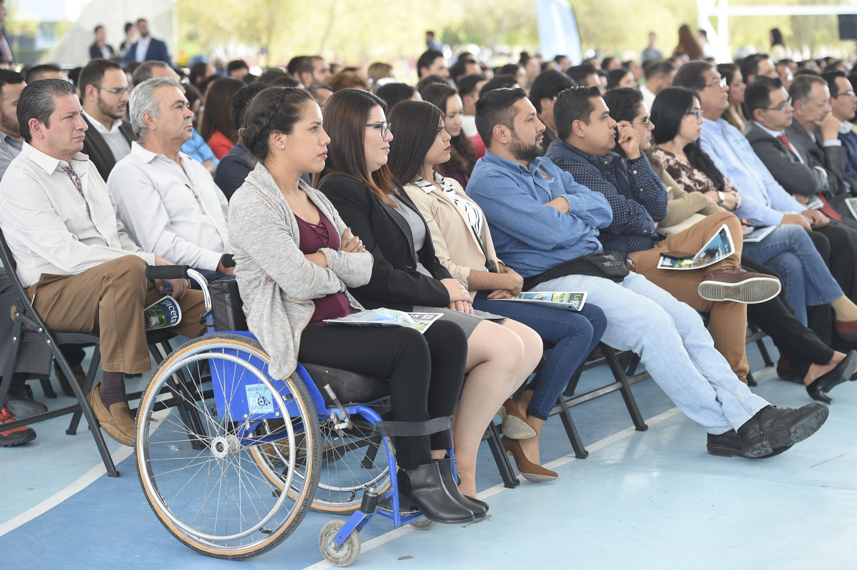 Público asistente al informe de actividades 2017, del Centro Universitario de los Valles.