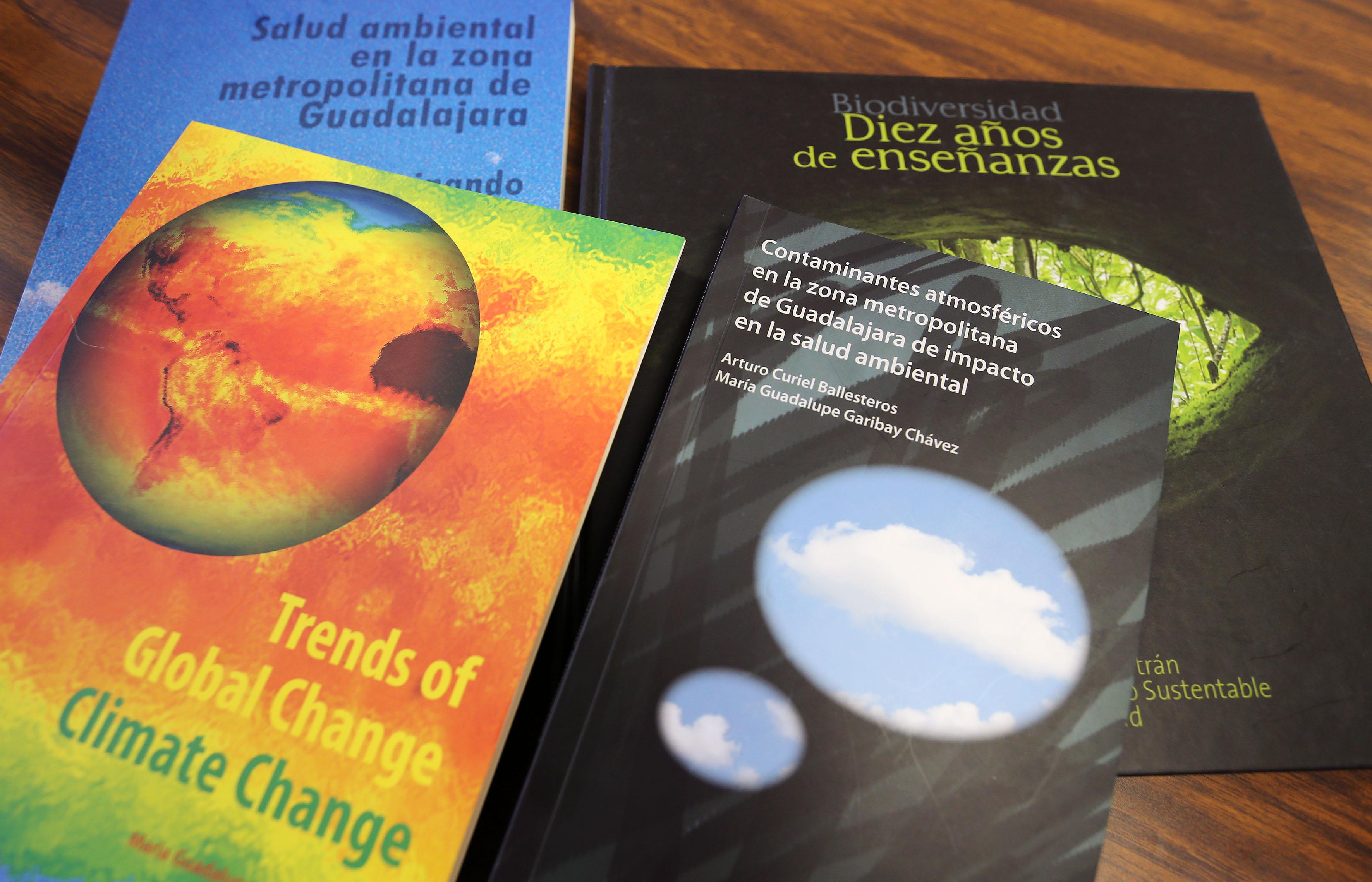 Diversas publicaciones sobre salud ambiental
