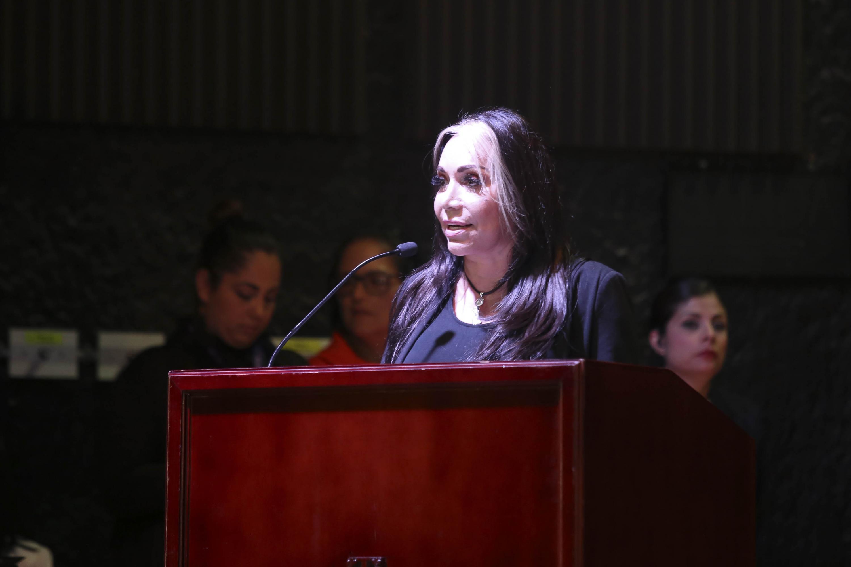 La Presidenta municipal de Tlaquepaque, licenciada María Elena Limón García, en uso de la palabra