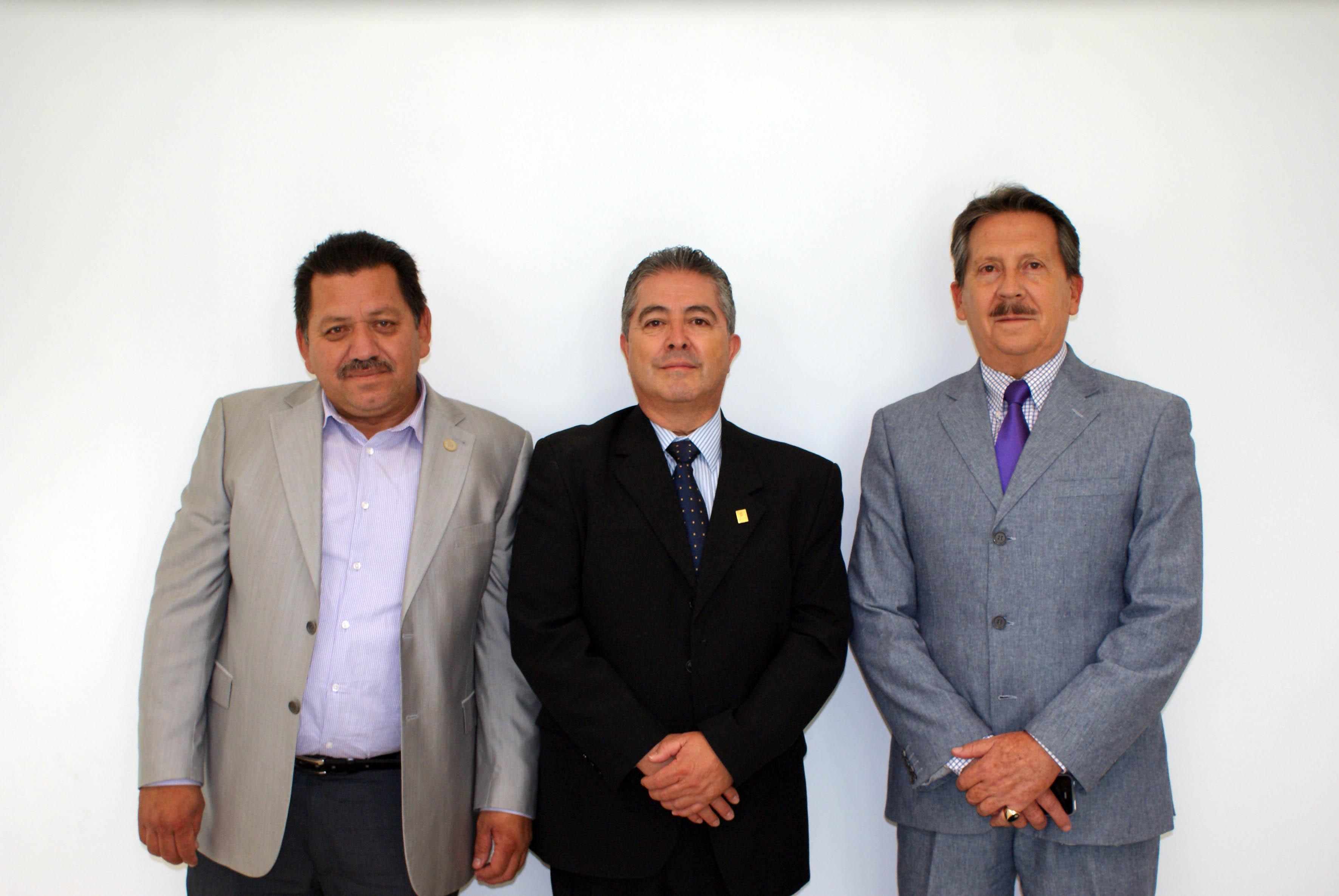Mtro. Salvador Gonzalo Luna, Dr. Carlos Beas Zarate, Dr. Juan de Jesús Taylor candidatos a Rector del CUCBA