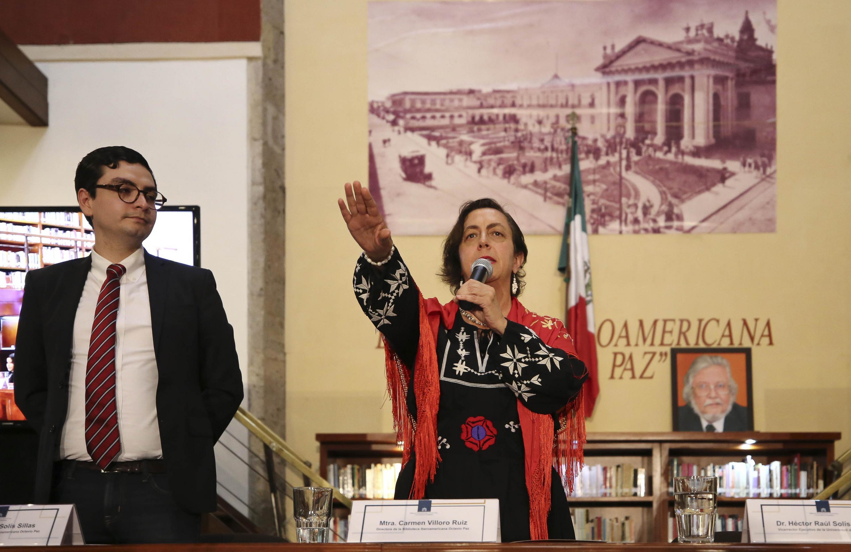La poeta Carmen Villoro asumió la dirección de la Biblioteca Iberoamericana Octavio Paz, de la Universidad de Guadalajara (UdeG)