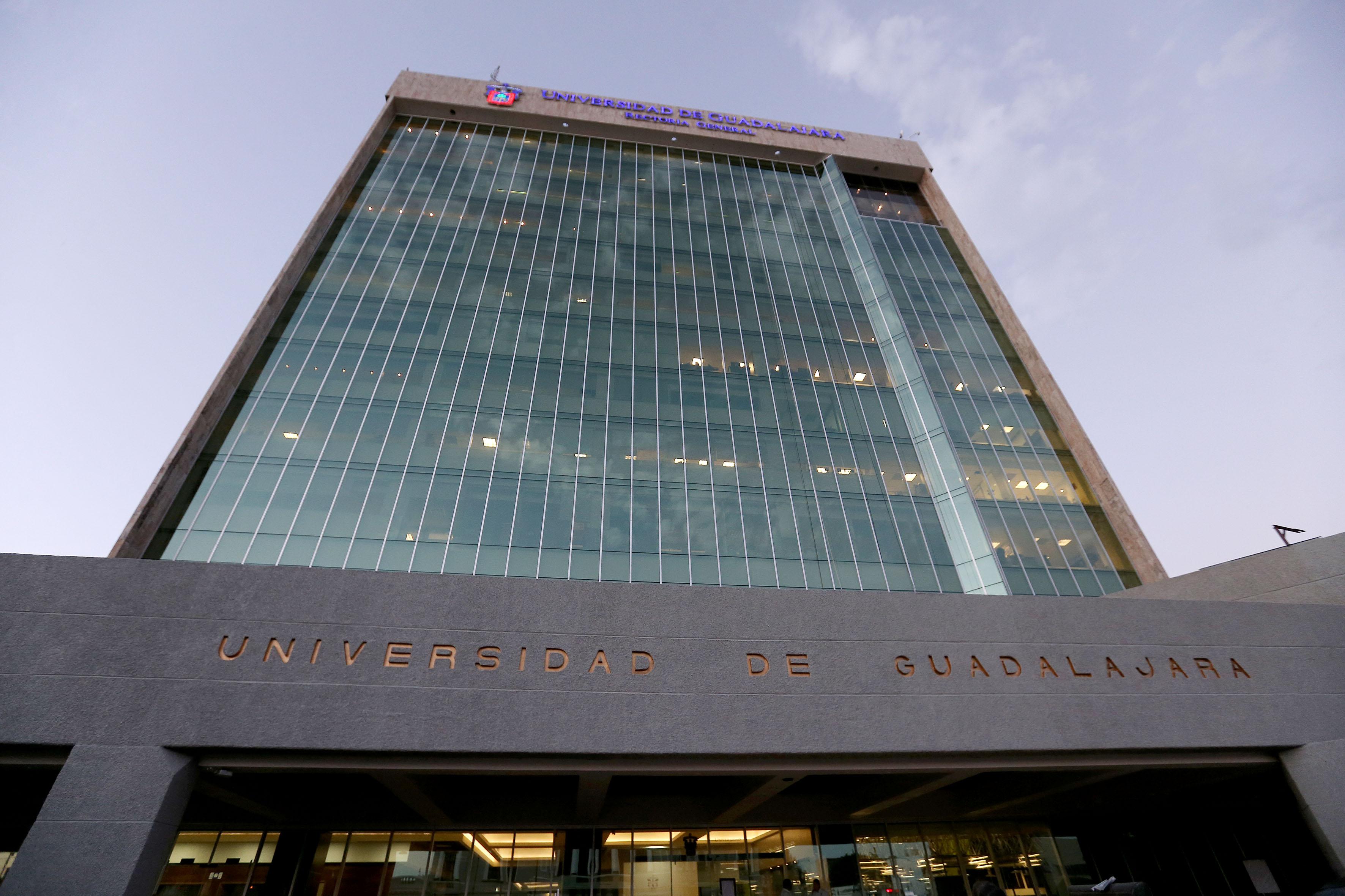 Edificio de la Rectoría de la Universidad de Guadalajara