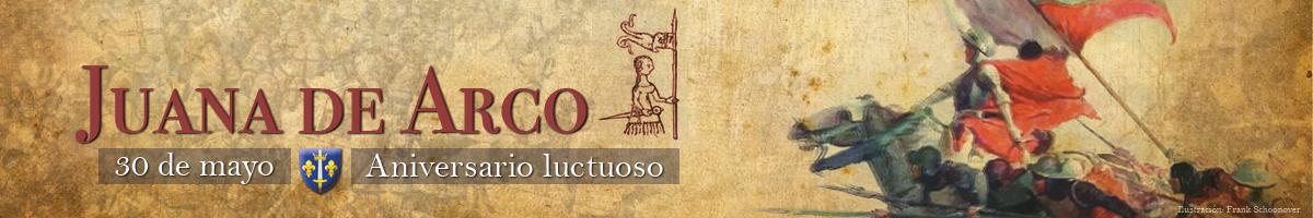 ilustracion dedicada a Juana de Arco