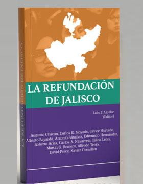 Identidad gráfica para promocionar la Presentación del libro La Refundación de Jalisco