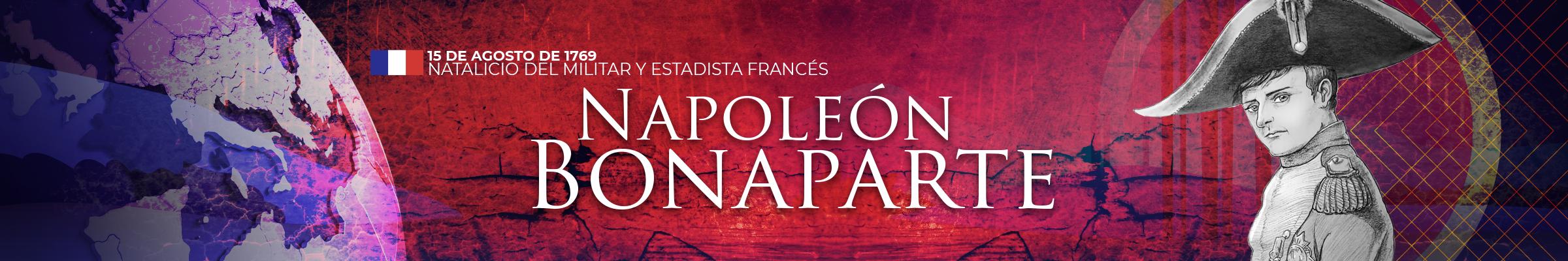 Ilustración de Napoleón Bonaparte